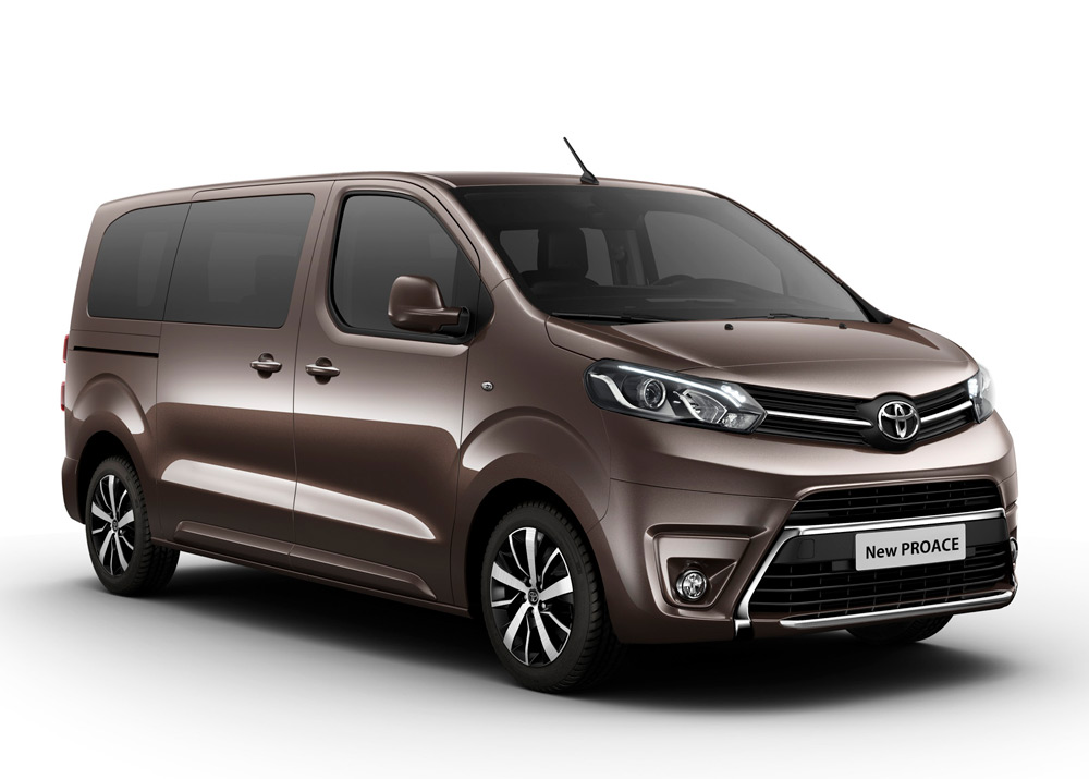 book of toyota minibus 9 places in thailand. Black Bedroom Furniture Sets. Home Design Ideas